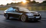 Four-star BMW M550i