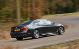 BMW M760Li xDrive rear cornering