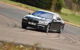 BMW M760Li xDrive cornering