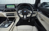 BMW M760Li xDrive dashboard