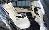 BMW M760Li xDrive rear seats