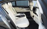 BMW M760Li xDrive rear seats