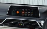 BMW M760Li iDrive infotainment system