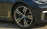 21in BMW M760Li xDrive alloy wheels