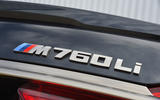 BMW M760Li xDrive badging