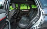 BMW X1 rear seats