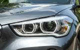 BMW X1 bi-xenon headlights