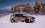 2017 BMW X3 winter testing