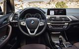 BMW X3 dashboard