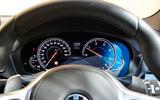 BMW X3 digital instrument cluster