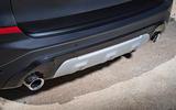 BMW X3 dual-exhaust system