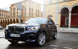 BMW X3 PHEV official press images - hero nose