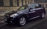 BMW X3 PHEV official press images - hero front