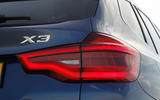 BMW X3 xDrive20d rear lights