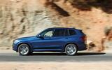 BMW X3 side profile