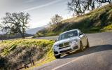BMW X4 M40i cornering