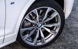 20in BMW X4 M40i alloys