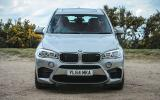 BMW X5 M front end