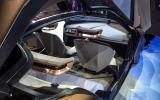BMW Vision Next 100 concept car interior