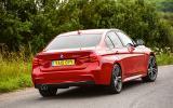 BMW 320d M Sport rear