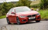 BMW 320d M Sport cornering