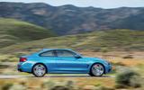 BMW 440i Coupé side profile