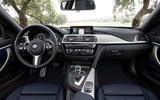 BMW 440i Coupé dashboard