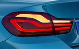 BMW 440i Coupé rear lights