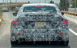 BMW 2 Series coupe spyshots rear