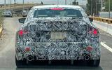 BMW 2 Series coupe spyshots rear