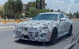 BMW 2 Series coupe spyshots front