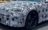 BMW 2 Series coupe spyshots front closer