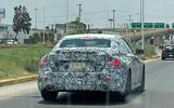 BMW 2 Series coupe spyshots rear side