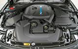 2017 BMW 330e - engine