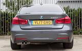 2017 BMW 330e - rear