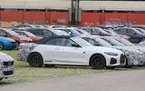 BMW 4 Series Convertible static spyshot side