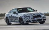 2020 BMW 4 Series prototype - cornering front