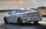 2020 BMW 4 Series prototype - rear 3/4