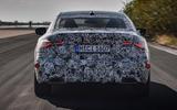 2020 BMW 4 Series prototype - rear