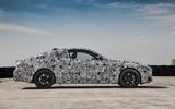 2020 BMW 4 Series prototype - static side