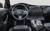 2020 BMW 4 Series prototype - steering wheel