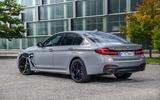 BMW 545e rear