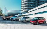 BMW electrc range