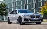 2020 BMW 545e xDrive prototype