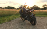 BMW bike rear