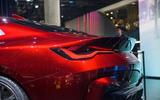 BMW Concept 4 at Frankfurt - rear end