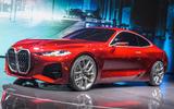 BMW Concept 4 at Frankfurt - front