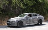BMW i4 spy shots