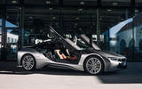 BMW i8 end of production - doors