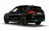 BMW iX3 black rear side